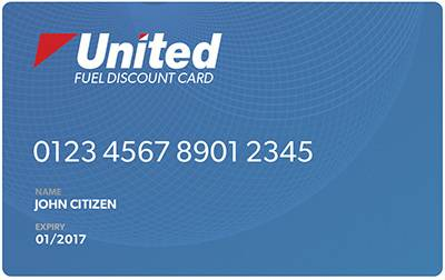 United Fuel Discount Card