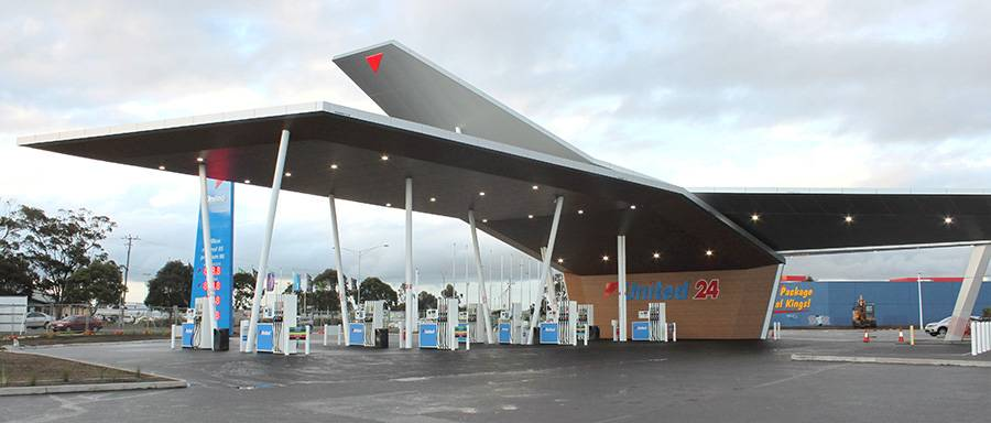 E85 Gas Stations >> United Corio North open - United Petroleum
