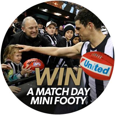 WIN a match day footy